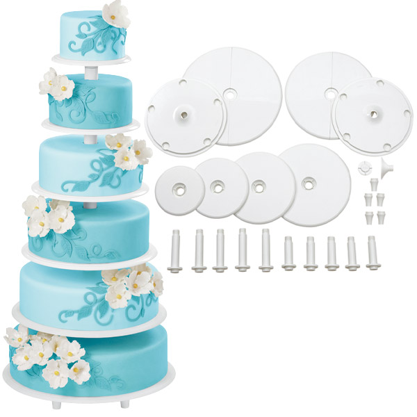 Cake Assembly: Cake Columns, Plates, Stands and Serving Boards ...