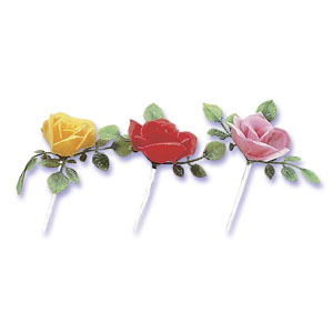 Rose Flower Picks