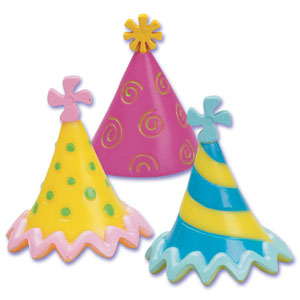 Birthday Hat Toppers